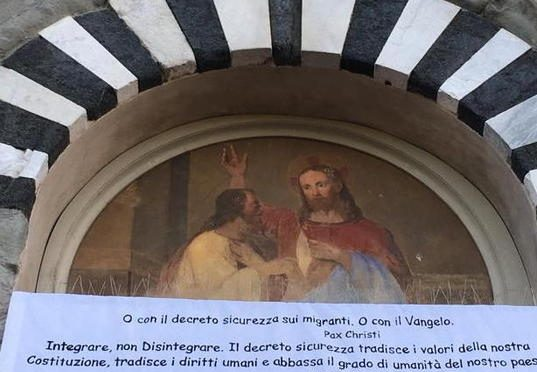 Direttore Caritas invoca la rivolta contro Salvini