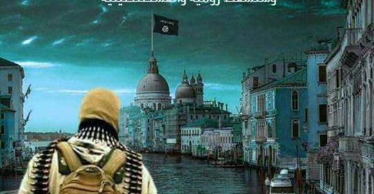 Isis celebra Venezia islamica