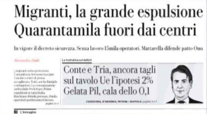 Salvini chiude Mafia Capitale: 40mila finti profughi via dagli hotel