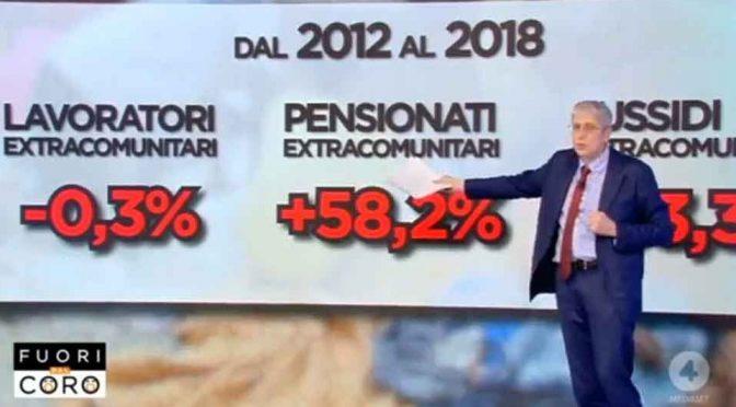 """Presidente ISTAT: """"Saremo noi a pagare pensioni a immigrati"""""""