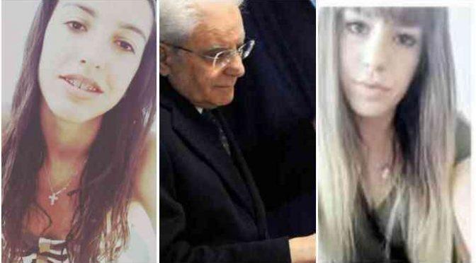 Mattarella ignora Pamela e Desirée: saluta gli immigrati