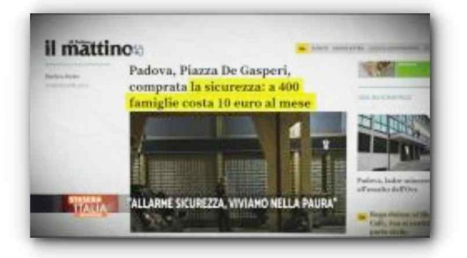 Padova, troppi immigrati: 800 famiglie assumono guardie private
