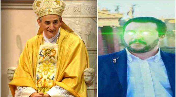 Il vescovo di Bologna attacca i cittadini di Torre Maura e propaganda lo ius soli a scuola