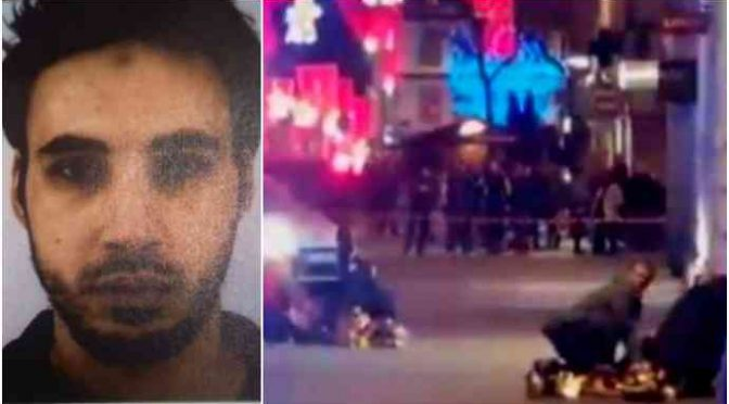 "Strasburgo, Cherif urlò ""Allah akbar"" prima di sparare: ""Ne ho uccisi 10"""