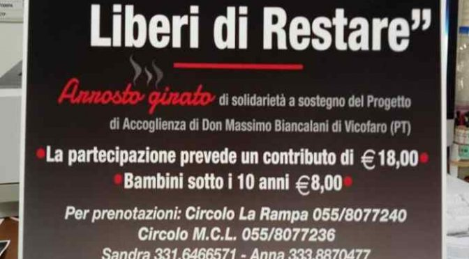 Grigliata multietnica per Biancalani: 18 euro a biglietto