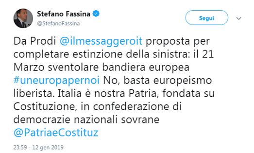 Stefano Fassina, c'è vita (quasi) intelligente a sinistra