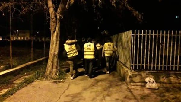 Borgo Mezzanone: militanti FN scortano donne a casa