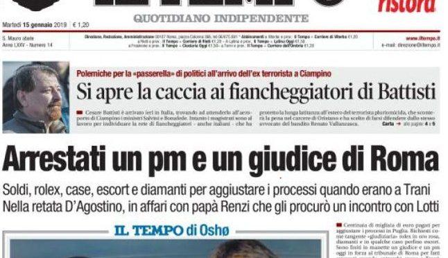 Sfrattavano famiglie italiane per 'fare posto', magistrati rossi arrestatati per corruzione
