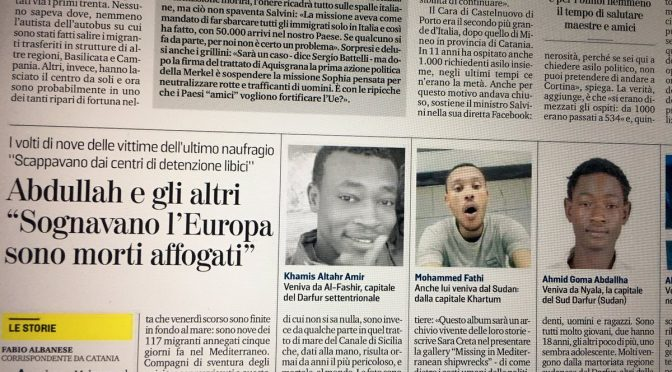 La Stampa, 2 bufale in 1 articolo: moltiplica i morti e sposta il Canale di Sicilia in Libia