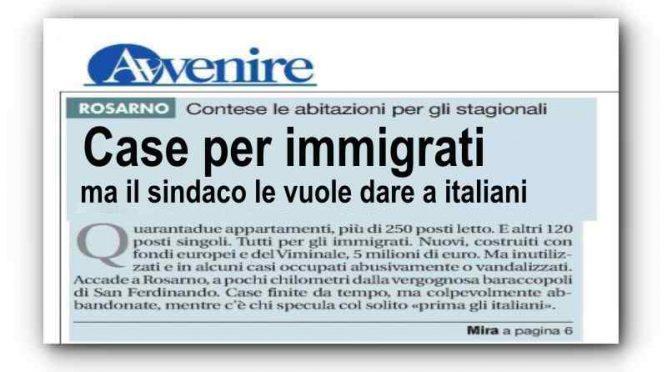 """Sindaco dà """"case dei migranti"""" ai suoi cittadini senzatetto: vescovi protestano"""