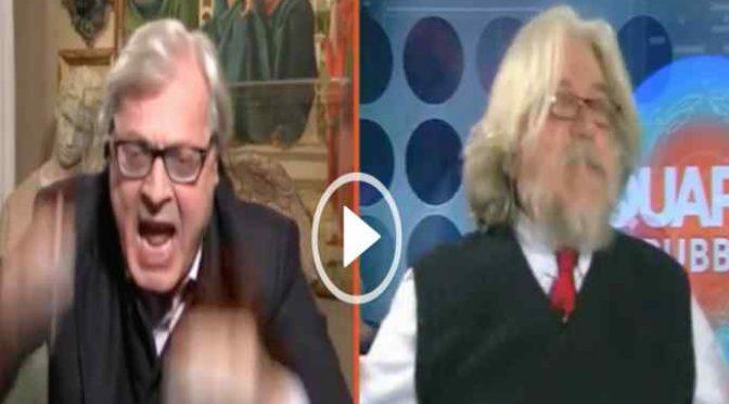 Meluzzi spiega a Sgarbi i pericoli dell'Islam: è scontro – VIDEO
