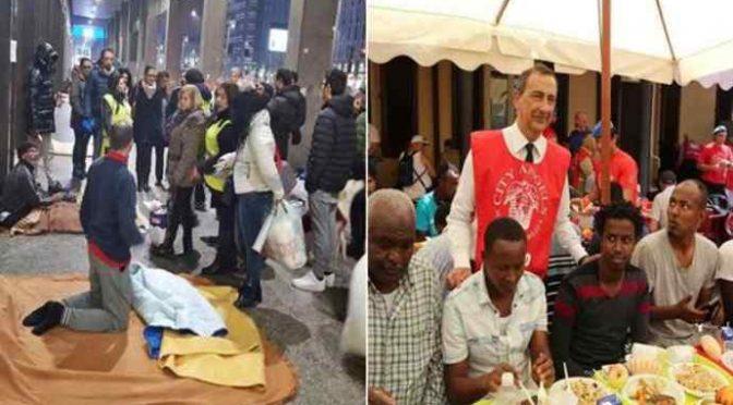 """Volontario: """"Per i profughi abbiamo trascurato i senzatetto italiani"""""""