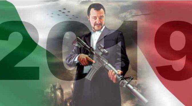 Offese a poliziotto morto, Salvini ordina caccia all'uomo