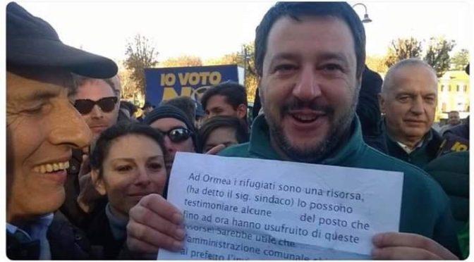 "Sindaco difende ""t**ie"" di Ormea da Salvini: ""Profughi si sono INSERITI"""
