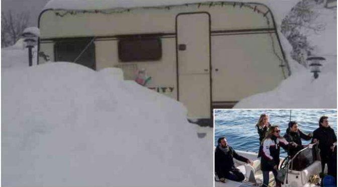 SeaWatch, terremotato muore di freddo in roulotte: per lui niente visita parlamentari