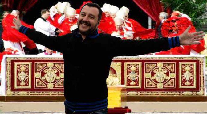 Salvini citofona a spacciatore tunisino: vescovi protestano