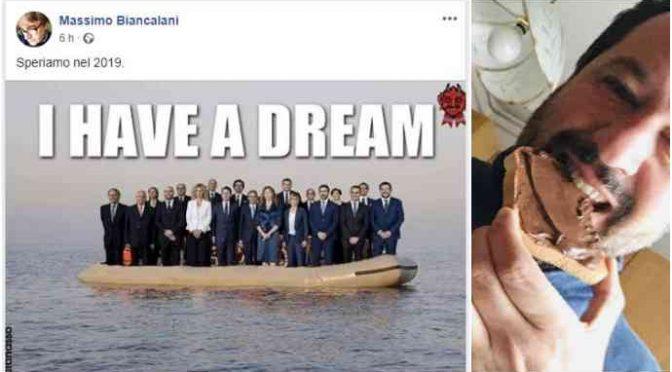 Don Biancalani si augura il naufragio di Salvini
