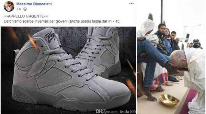"Biancalani: ""Regalate scarpe ai miei maschi africani"""