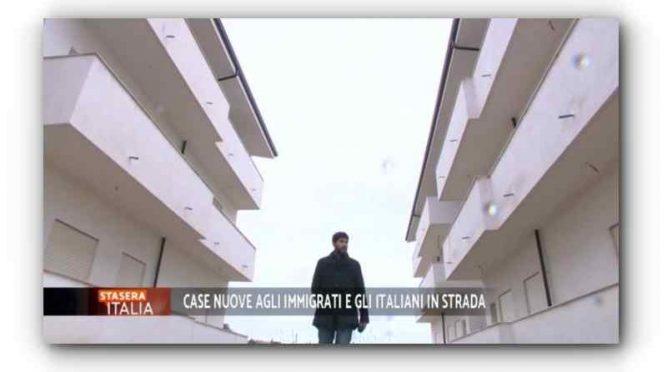 Le case nuove degli italiani vanno a immigrati – VIDEO
