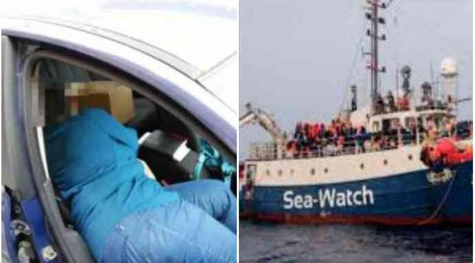 Papà italiano dorme in auto, è troppo povero: pensano a immigrati