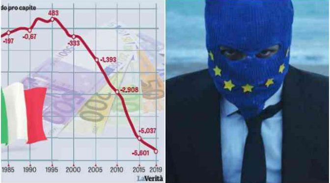 Dall'UE pioggia di soldi per l'Africa mentre affama l'Italia: 15 miliardi di euro