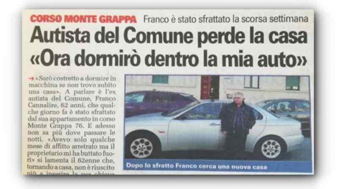 Torino, sindaco cerca casa a immigrati: Franco dorme in auto