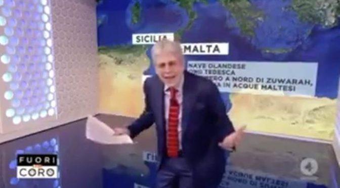 "Giordano affonda SeaWatch: ""Perché deve sbarcare in Italia?"" – VIDEO"