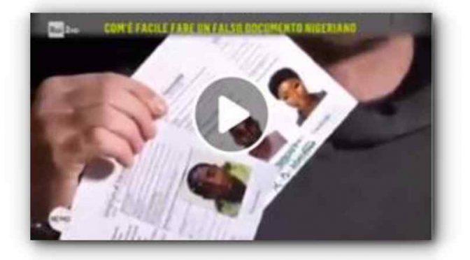 L'ambasciata nigeriana a Roma vende identità false? – VIDEO