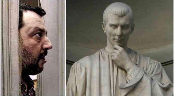 """Machiavelli: """"Non permettete a stranieri di infettare la repubblica"""""""