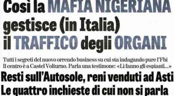 PD ha traghettato la Mafia Nigeriana in Italia: 80mila nigeriani in 5 anni, emergenza