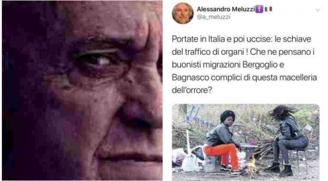 """Meluzzi duro: """"Bergoglio complice dei macellai nigeriani"""""""