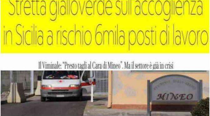 Mineo, Salvini chiude il villaggio di lusso dei profughi assassini