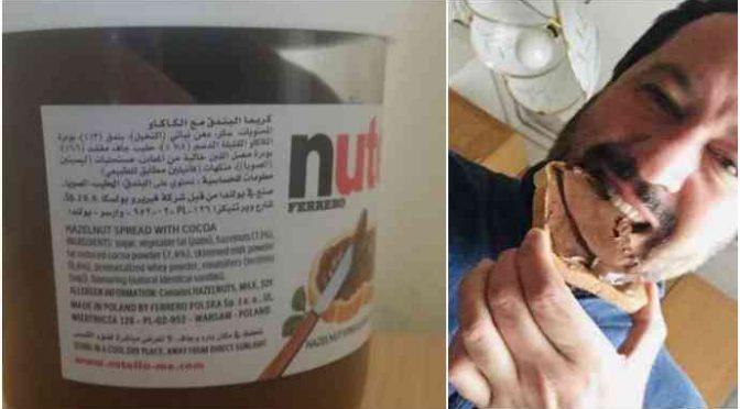Nutella si converte all'Islam e diventa Halal