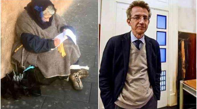 Quest'uomo fa pagare i malati italiani e non i clandestini
