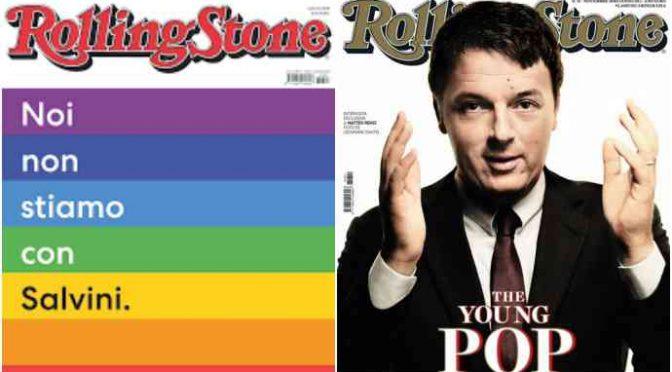 Rolling Stone chiude: non stava con Salvini, non starà più nemmeno in edicola