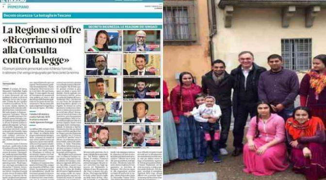 Il sinistro in foto vuole abrogare il decreto Salvini