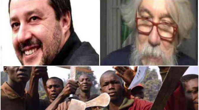 """Salvini sta con Meluzzi: """"Mafia nigeriana ha occupato militarmente l'Italia"""""""