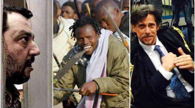 Il PD ha traghettato la Mafia Nigeriana in Italia: ma processano Salvini!