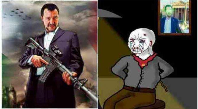 """Battisti, Salvini: """"Ora tocca agli altri 50 terroristi rossi"""""""
