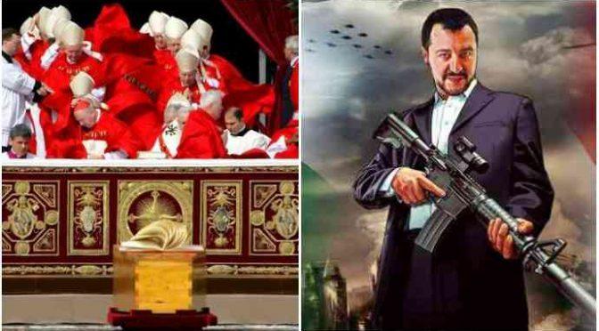 Salvini diserta incontro con Bergoglio: deve vedere pastori sardi