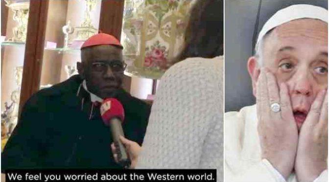 "Cardinale africano: ""Europa sarà dominata da immigrati"" – VIDEO"