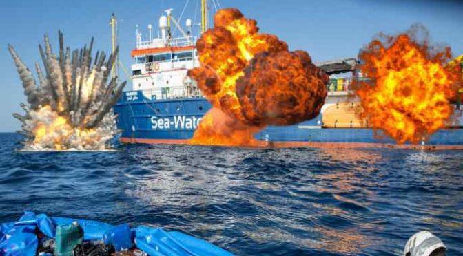 """SeaWatch sbarca 18 clandestini, scatta indagine per """"favoreggiamento immigrazione clandestina"""""""