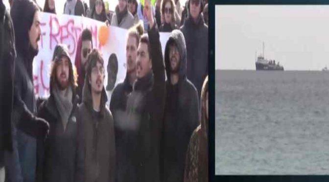 Siracusa, sindaco chiede sbarco Sea Watch: cittadini non si presentano – VIDEO