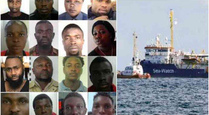 Mineo, quanti mafiosi nigeriani ci sono sulla Sea Watch?