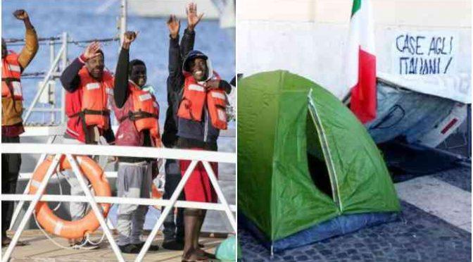"""47 disoccupati italiani respinti: """"Assumiamo solo profughi"""""""
