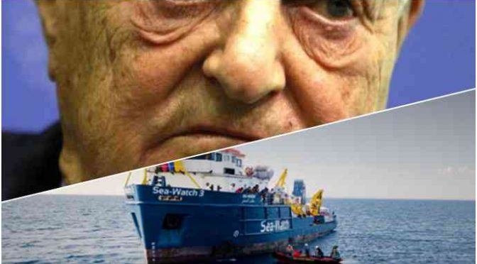 Soros finanzia le sentenze che spalancano le frontiere italiane