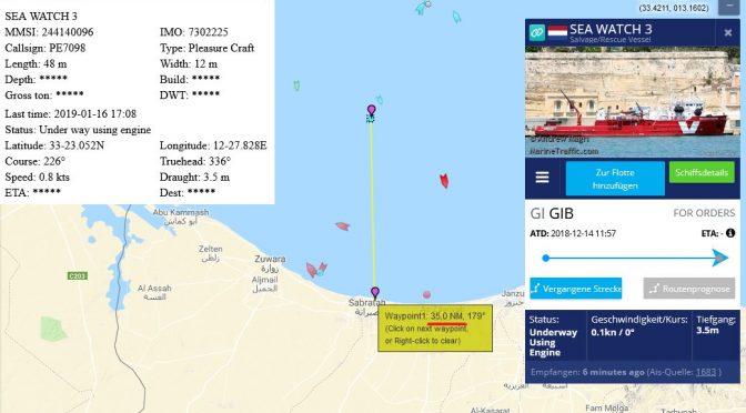 Ong, SeaWatch in attesa del carico a 35 miglia da Tripoli