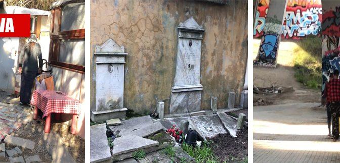 Roma, il cimitero diventa campo nomadi – VIDEO
