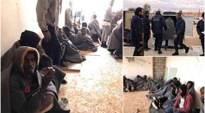 Altri 63 clandestini diretti in Italia bloccati in Libia – FOTO