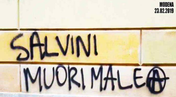 Ancora minacce di morte contro Salvini